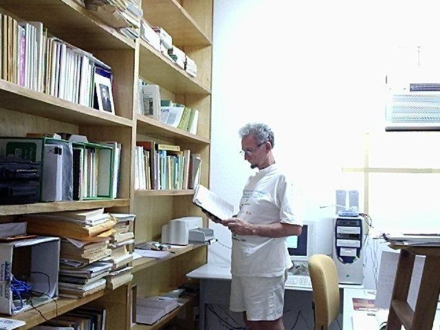 Meu escritório na Universidade