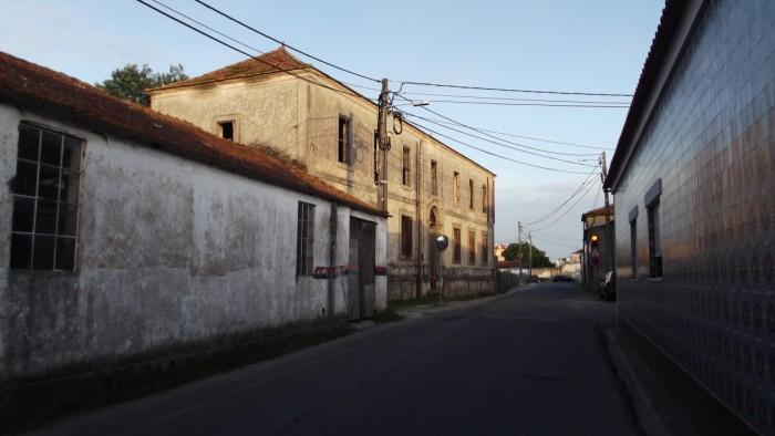 A rua do Eça de Queiroz