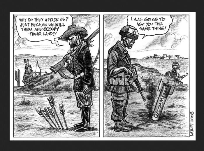 """Why do they attack us? just because we kill them and occupy their land?!  Falou pioneiro americano sobre os índios: """" E por que eles nos atacam? apenas porque nós os matamos e lhes tomamos suas terras?!  """""""