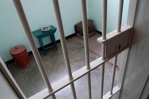 A cela de Mandela na prisão Robben Island (Thomas Berg/cc/flickr)