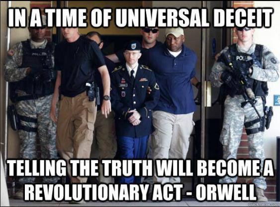 Falar a verdade tournou-se um ato criminoso