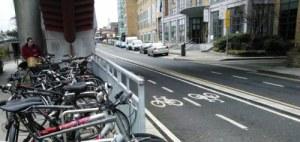 Jardim das bicicletas