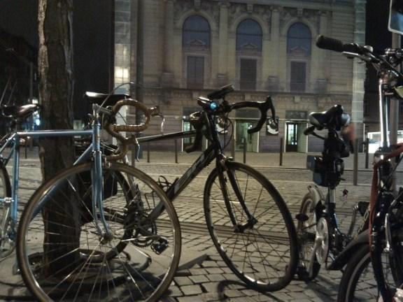 Praça da Batalha - Massa Critica Porto, 28 Fevereiro