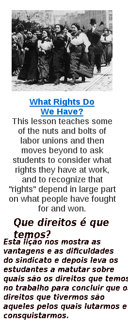Direitos do trabalhador