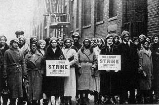 As mulheres na luta