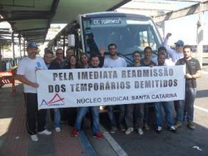 """Trabalhadores demitidos por fazer uso do direito de greve no governo do """"partido dos trabalhadores"""""""
