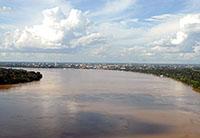 Água doce da Amazônia