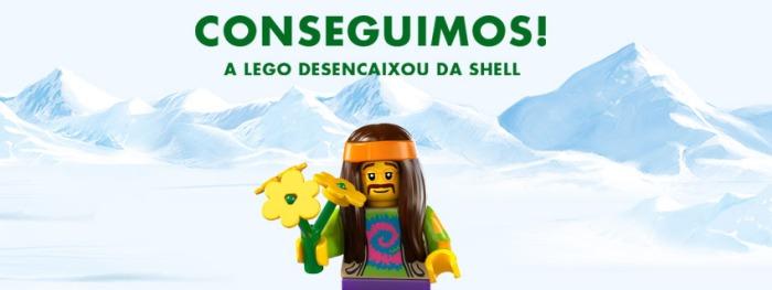 Lego se desencaixa da SHELL