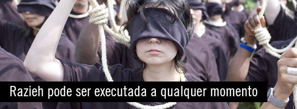 Mulher, menina, violentada, condenada à morte