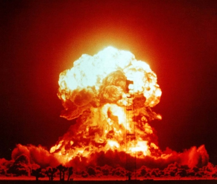 apenas um teste de arma nuclear