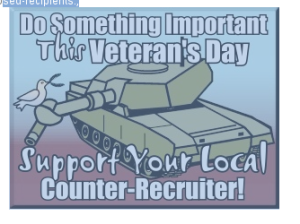 Faça alguma coisa útil num dia qualquer que os militares estejam festejando