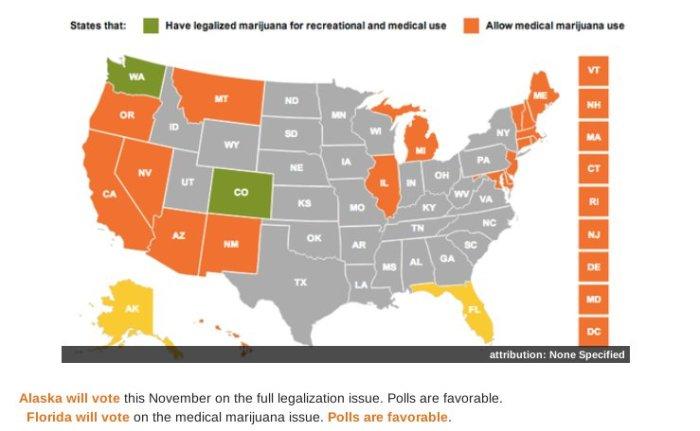Mapa da legalização