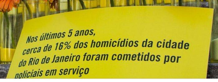 No Rio está aí a estatística e no resto do Brasil?