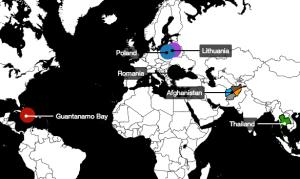 Prisões secretas da C.I.A. pelo mundo