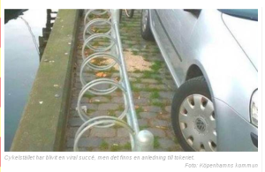 A prefeitura de Copenhaguen explica o mistério - foto pertence à prefeitura de Copenhaguen