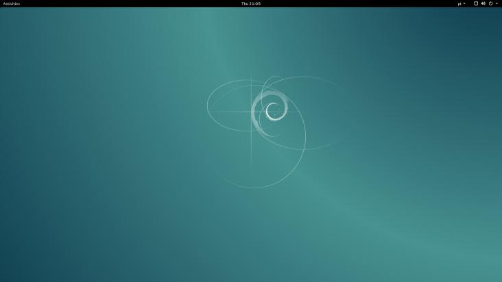 Debian 8.1 no computador de mesa
