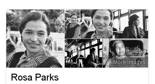 """a """"ilusão"""" de Rosa Parks"""