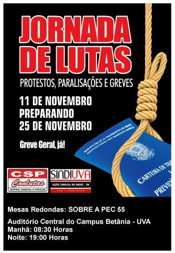 calendario de lutas do dia 11 de Novembro