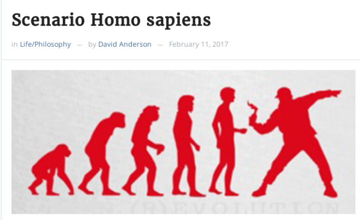 Evolução do home, o animal sabido
