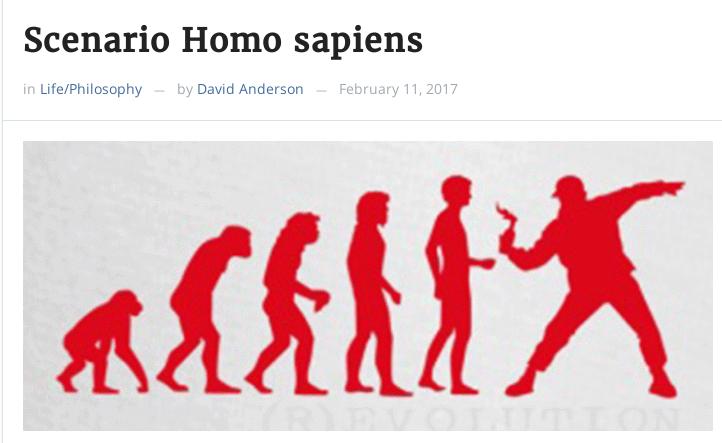 Evolução do home, o animal sabido