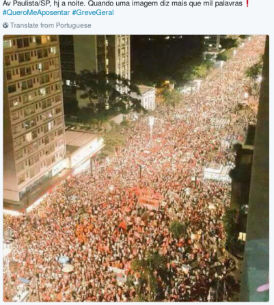 trabalhadoras em greve param o Brasil de ponta a ponta
