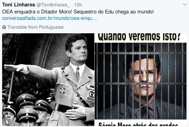 Quando Veremos este nazista preso?